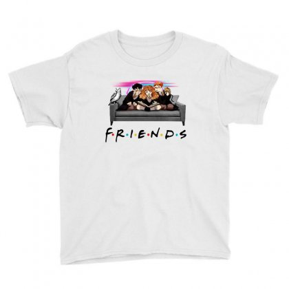 Friends   Harry Potter Family Witch Fan Art Youth Tee Designed By Meganphoebe