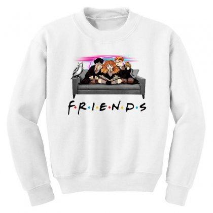Friends   Harry Potter Family Witch Fan Art Youth Sweatshirt Designed By Meganphoebe