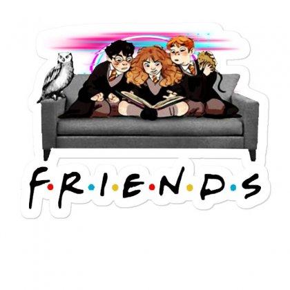 Friends   Harry Potter Family Witch Fan Art Sticker Designed By Meganphoebe