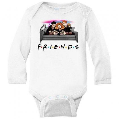 Friends   Harry Potter Family Witch Fan Art Long Sleeve Baby Bodysuit Designed By Meganphoebe