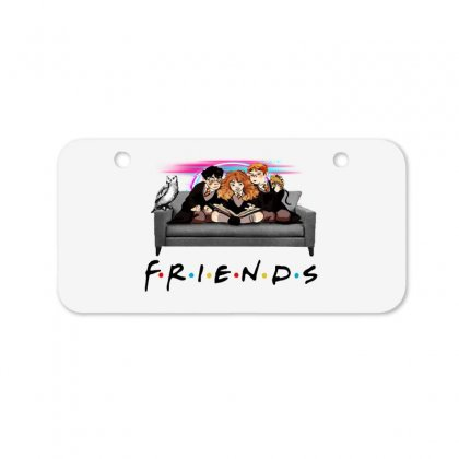 Friends   Harry Potter Family Witch Fan Art Bicycle License Plate Designed By Meganphoebe