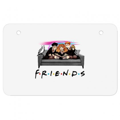 Friends   Harry Potter Family Witch Fan Art Atv License Plate Designed By Meganphoebe