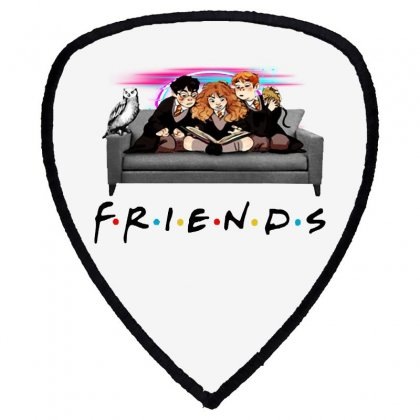 Friends   Harry Potter Family Witch Fan Art Shield S Patch Designed By Meganphoebe