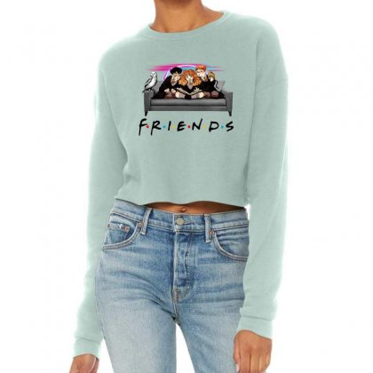 Friends   Harry Potter Family Witch Fan Art Cropped Sweater Designed By Meganphoebe