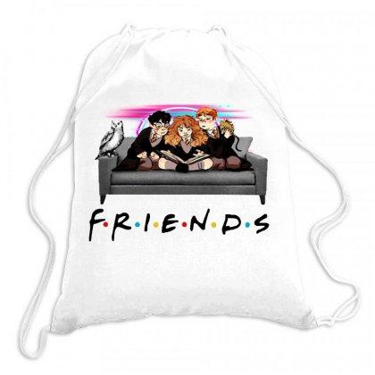 Friends   Harry Potter Family Witch Fan Art Drawstring Bags Designed By Meganphoebe