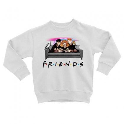 Friends   Harry Potter Family Witch Fan Art Toddler Sweatshirt Designed By Meganphoebe