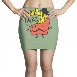 french fries funny Mini Skirts | Artistshot