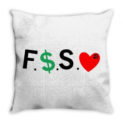 Dreamville Throw Pillow Designed By Meganphoebe