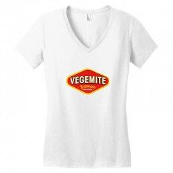 vegemite logo Women's V-Neck T-Shirt   Artistshot