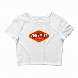vegemite logo Crop Top   Artistshot