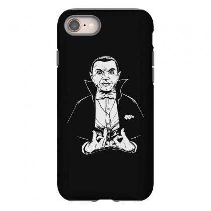 Dracula Bw Iphone 8 Case Designed By Meganphoebe