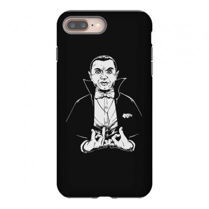 Dracula Bw Iphone 8 Plus Case Designed By Meganphoebe