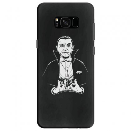 Dracula Bw Samsung Galaxy S8 Case Designed By Meganphoebe