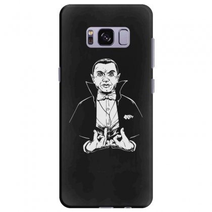 Dracula Bw Samsung Galaxy S8 Plus Case Designed By Meganphoebe