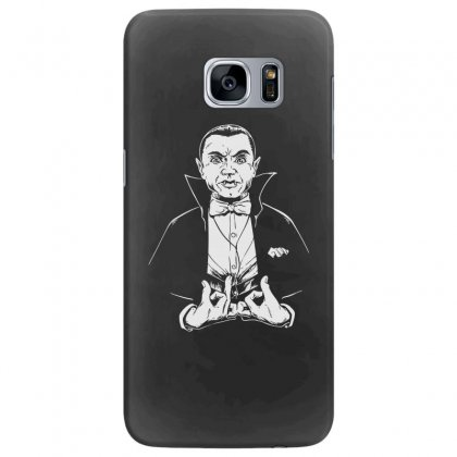 Dracula Bw Samsung Galaxy S7 Edge Case Designed By Meganphoebe