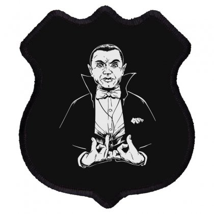 Dracula Bw Shield Patch Designed By Meganphoebe