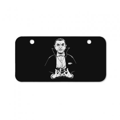 Dracula Bw Bicycle License Plate Designed By Meganphoebe