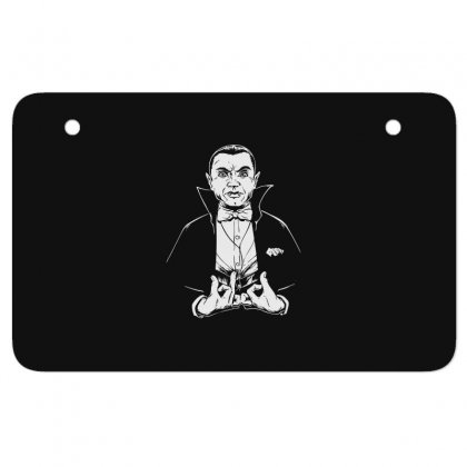 Dracula Bw Atv License Plate Designed By Meganphoebe