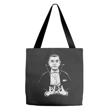 Dracula Bw Tote Bags Designed By Meganphoebe