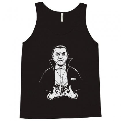 Dracula Bw Tank Top Designed By Meganphoebe
