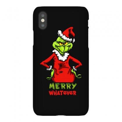 Christmas Grinchy Iphonex Case Designed By Meganphoebe