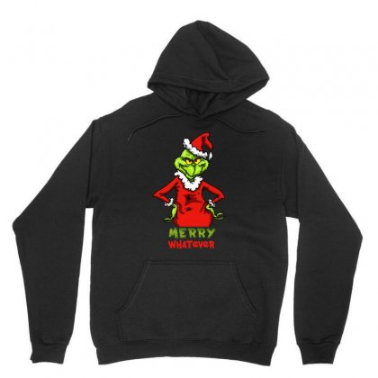 Christmas Grinchy Unisex Hoodie Designed By Meganphoebe