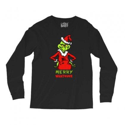 Christmas Grinchy Long Sleeve Shirts Designed By Meganphoebe