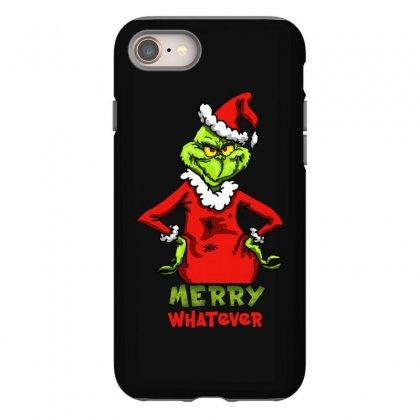 Christmas Grinchy Iphone 8 Case Designed By Meganphoebe