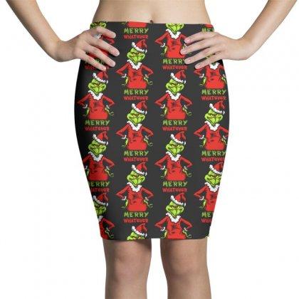 Christmas Grinchy Pencil Skirts Designed By Meganphoebe