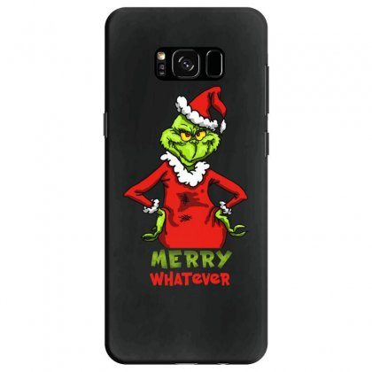 Christmas Grinchy Samsung Galaxy S8 Case Designed By Meganphoebe