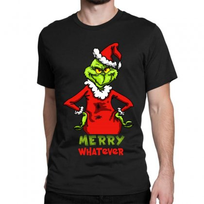 Christmas Grinchy Classic T-shirt Designed By Meganphoebe