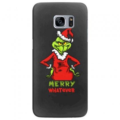 Christmas Grinchy Samsung Galaxy S7 Edge Case Designed By Meganphoebe