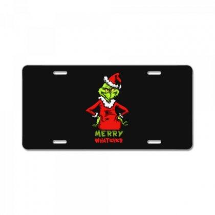 Christmas Grinchy License Plate Designed By Meganphoebe