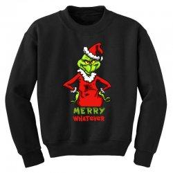 christmas grinchy Youth Sweatshirt | Artistshot