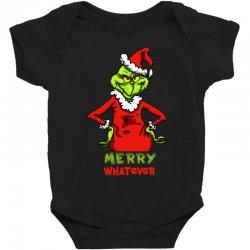 christmas grinchy Baby Bodysuit | Artistshot