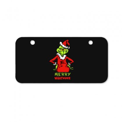 Christmas Grinchy Bicycle License Plate Designed By Meganphoebe