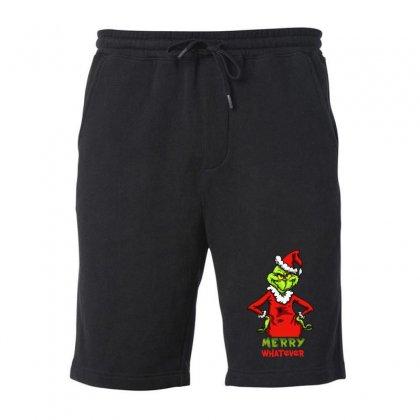 Christmas Grinchy Fleece Short Designed By Meganphoebe
