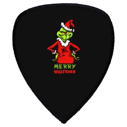 Christmas Grinchy Shield S Patch Designed By Meganphoebe