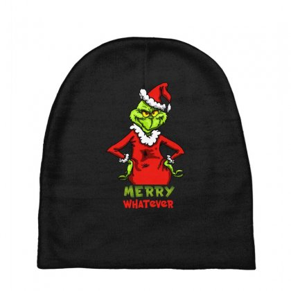 Christmas Grinchy Baby Beanies Designed By Meganphoebe