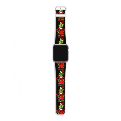 Christmas Grinchy Apple Watch Band Designed By Meganphoebe