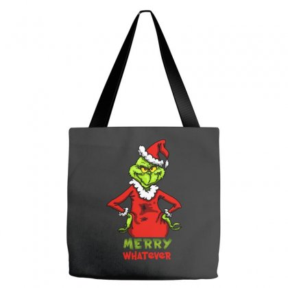 Christmas Grinchy Tote Bags Designed By Meganphoebe