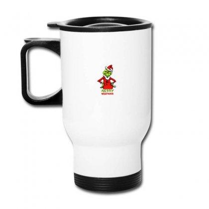 Christmas Grinchy Travel Mug Designed By Meganphoebe