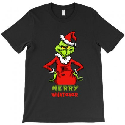 Christmas Grinchy T-shirt Designed By Meganphoebe