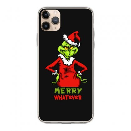 Christmas Grinchy Iphone 11 Pro Max Case Designed By Meganphoebe
