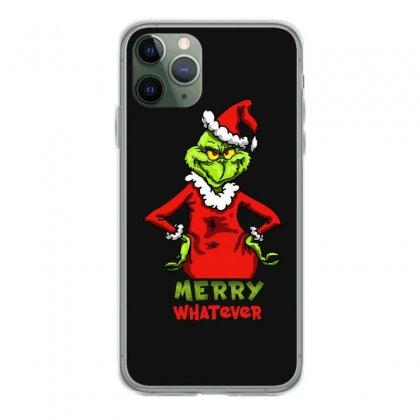 Christmas Grinchy Iphone 11 Pro Case Designed By Meganphoebe