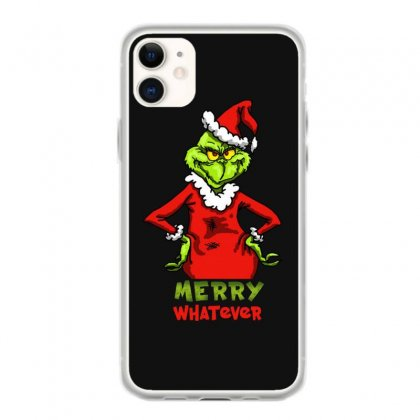 Christmas Grinchy Iphone 11 Case Designed By Meganphoebe