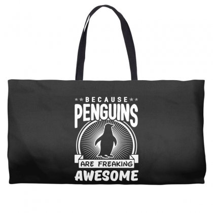 Because Penguins Are Freaking Awesome Weekender Totes Designed By Meganphoebe