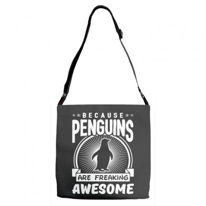 Because Penguins Are Freaking Awesome Adjustable Strap Totes Designed By Meganphoebe