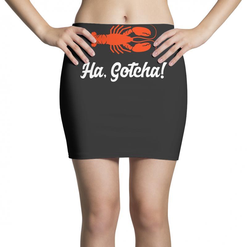Ha Gotcha Funny Crab Funny Mini Skirts | Artistshot