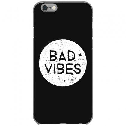 Bad Vibes White Style Iphone 6/6s Case Designed By Meganphoebe